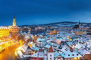 Weihnachtliches Südböhmen