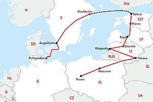 Baltikum für Genießer