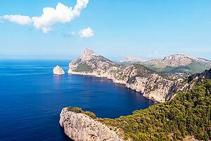 Perlen am Mittelmeer und Naturschönheit Mallorca erleben mit AIDAstella
