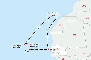 Afrikanisches Flair im Atlantik mit der Vasco da Gama