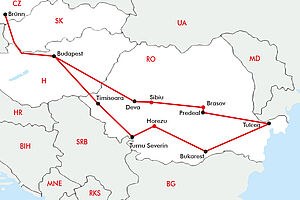 Donauimpressionen & Siebenbürgen