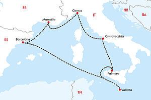 Pizza, Tapas, Rotwein - kulinarische Höhepunkte im Mittelmeer mit der MSC Grandiosa