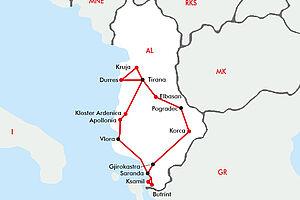 Albanien - ein echter Geheimtipp