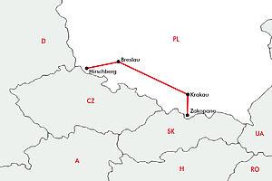 Breslau - Hohe Tatra - Krakau - Riesengebirge