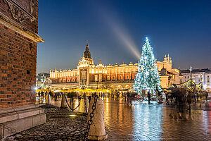 Krakau - Weihnachtsduft & Lichterzauber