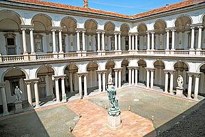 Der selbsternannte König von Italien in Mailand