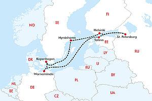 Perlen der Ostsee & Russische Kulturen mit Norwegian Getaway