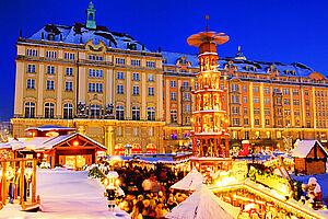 Weihnachtszauber in Dresden