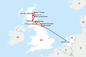 Schottland - Burgen, Whisky & Edinburgh
