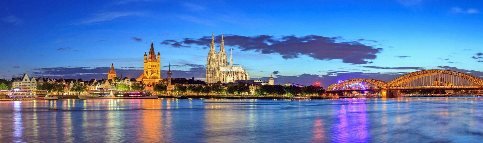 Köln Am Rhein Spazieren