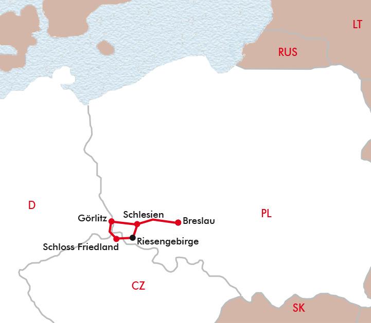 Schlesien Karte Heute.Schlesien Riesengebirge Breslau Görlitz